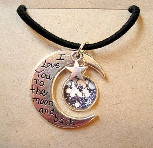 silver-tone-glitter-glass-i-love-you-to-the-moon-and-back-pendant-necklace-black-faux-suede-cord