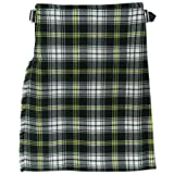 Green Plaid/Tartan St Patrick 5 Yard 10 oz Irish KILT (Formal & Everyday) 30-50