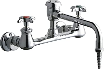Chicago Faucets 940-VBE7WSLCP Laboratory Sink Faucet