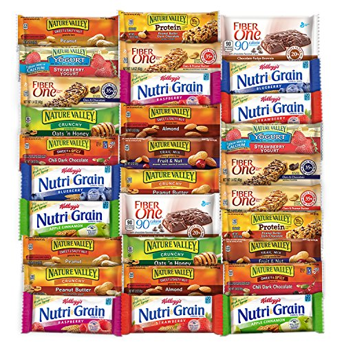 Healthy Bars Variety Pack Care Package (30 Count) (Home Care Package compare prices)
