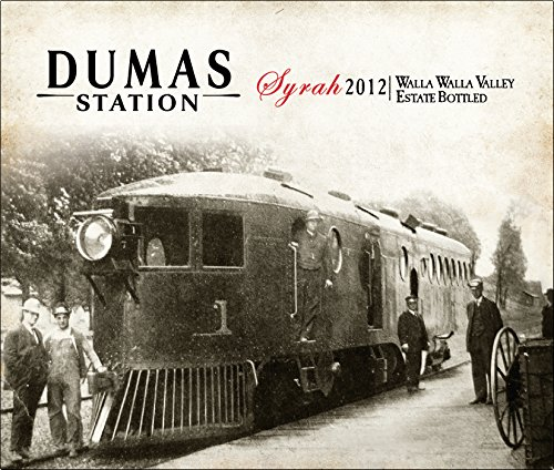 2012 Dumas Station Estate Walla Walla Valley Syrah 750 Ml