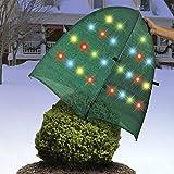 Outdoor Decorative Multi Color LED Light Up Bush Shrub Garden Cover