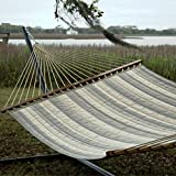 Pawleys Island Hammocks Decade Pewter Large Quilted Fabric Hammock