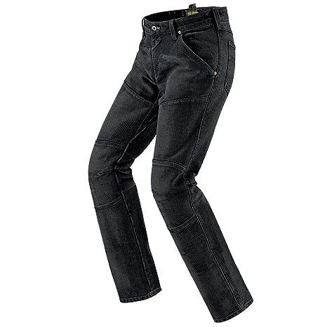 Spidi j 22-110 trousers cruel moto en tissu jean pour homme bleu