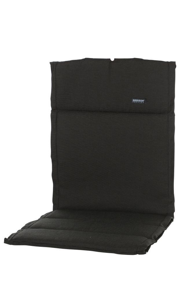 6 Stück MADISON Dessin Rib Sitzpolster, Sitzauflage für Stapelstuhl, Stapelsessel niedrig, Niedriglehner 100% Polyester, 100 x 50 x 4 cm, in schwarz jetzt bestellen