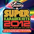 Super Karaoke Hits 2012 (Audio CD only)