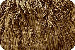 Caramel Mongolian Faux Fur Extra Large Size 36\
