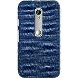 DailyObjects Motorola Royal Blue Denim Jeans Look-Alike Case For Motorola Moto G3