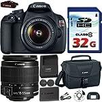 Canon EOS Rebel T5 DSLR 18mp + EF-S 1...