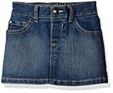 The Childrens Place Little Girls and Toddler 5-Pocket Denim Skirt, China Blue, 5T