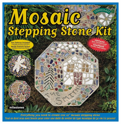 Milestones' Mosaic Stepping Stone Kit