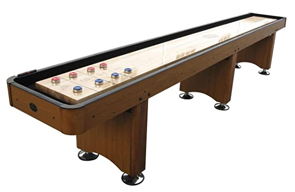 Outdoor Shuffleboard Set Puck Cue Sticks Accessories Family Party Games Indoor