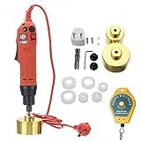 Huanyu Electric Capper Capping Machine Cap Cap Screwer Screwing Machine (110V) (Color: 110V)