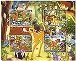 Classic Disney Bambi 4 Briefmarkenbog...