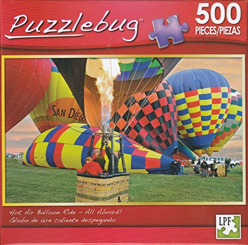 Puzzlebug 500 - Hot Air Balloon Ride - 1