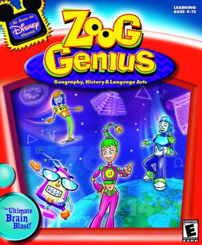 Zoog Genius (Geography, History and Language Arts)