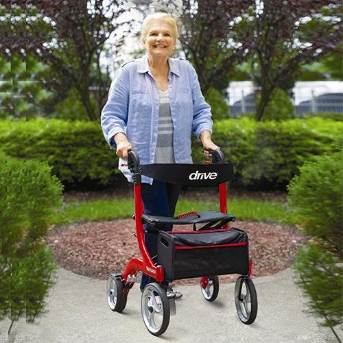 Drive Medical Nitro Rollator Attractive Lightweight