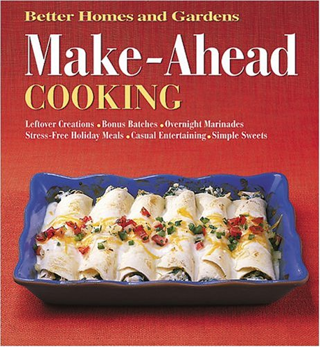 Image for Make-Ahead Cooking (Better Homes & Gardens)
