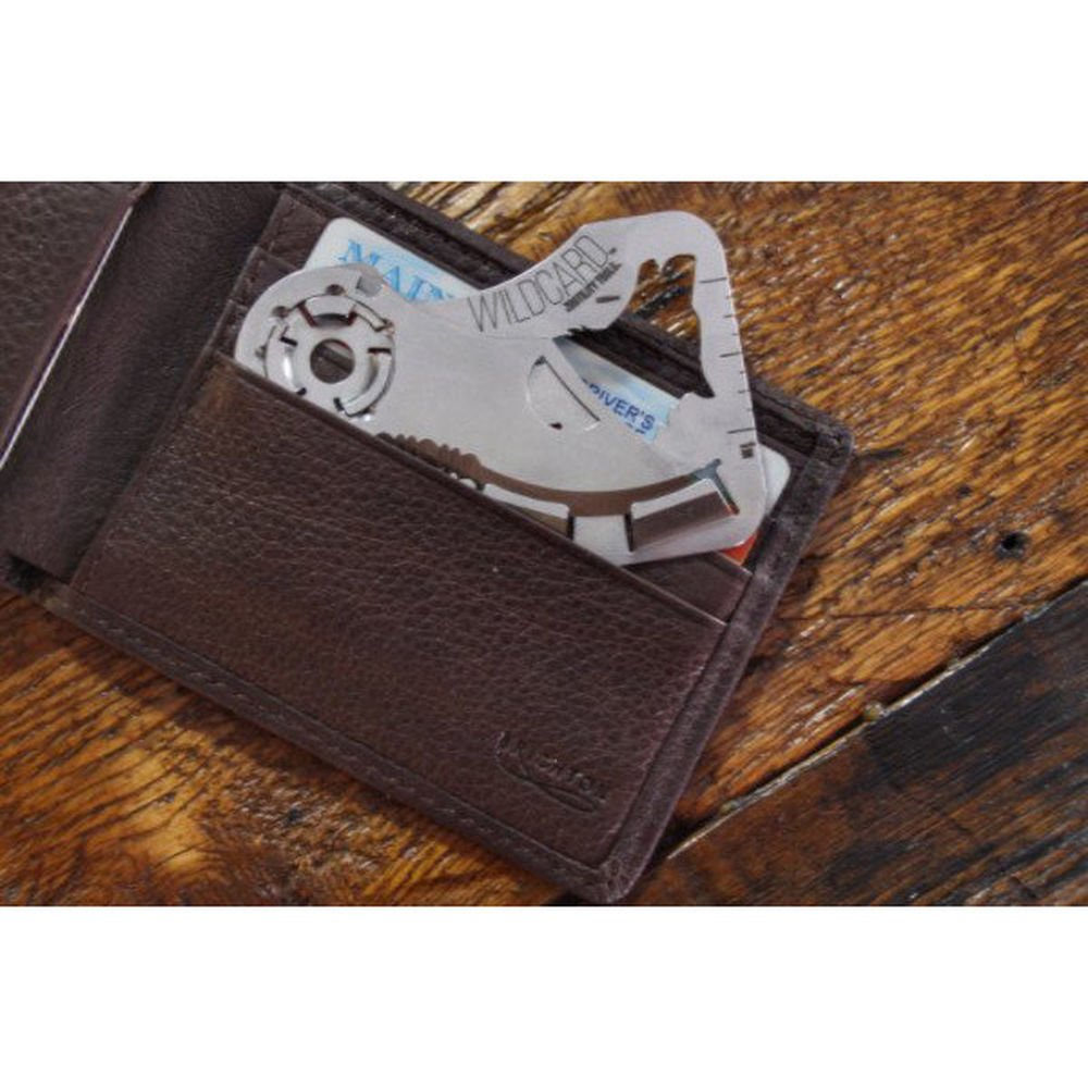 Zootility Tools WildCard Folding Credit Card Knife