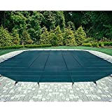 Pool Safety Cover for a 15 x 30 Pool, Green Mesh
