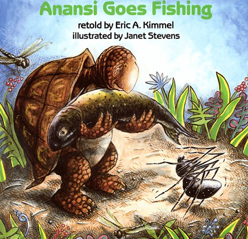 Anansi Goes Fishing, Eric A. Kimmel