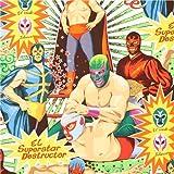 Tela retro wrestling Alexander Henry Super Lucha Libre EEU