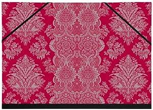 Exacompta 25521e ruby couture carton dessin lastiques pour a3 32 x 45 cm fournitures - Carton a dessin a3 ...