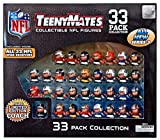 Teeny Mates NFL Collectible Gift Set - Series 3 (33 Pack)