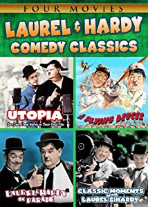 Comedy Classics 4-pack: Laurel & Hardy (Utopia / The Flying Deuces / Laurel & Hardy on Parade / Classic Moments With Laurel & Hardy)