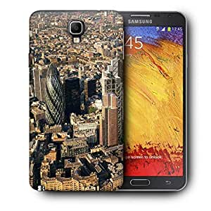 Snoogg Busy City Printed Protective Phone Back Case Cover For Samsung Galaxy NOTE 3 NEO / Note III