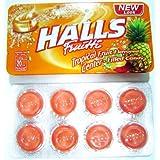 Halls Fruitti Fruit Spark Tropical Fruit, 224g