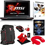 "MSI GT72S Dominator Pro G-220 17.3"" Gaming Laptop - Core i7-6820HK Skylake, GTX 980M 8GB VRAM, 32GB RAM, 1TB HDD, 256GB SSD + Gaming Bundle"