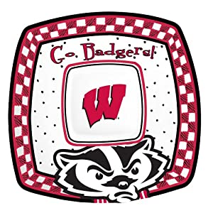NCAA Wisconsin Badgers Gameday Chip & Dip