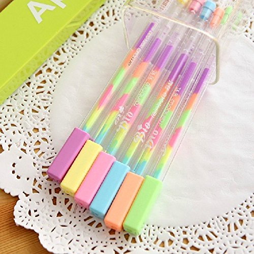 1-pcs-con-seis-color-boligrafos-de-gel-gradiente-color-pen-sign-boligrafos-lapices-rotuladores-elect