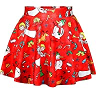 Alaroo Girls Printed Pleated Sweet Sk…