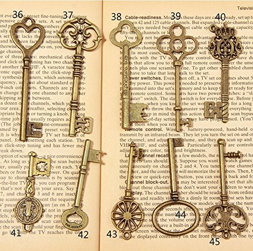 psmgoodsr-vintage-skeleton-antique-keys-charm-diy-padlock-old-style-look-bronze-10pack