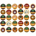 Decaf Coffee Sampler, K-Cup Portion Pack for Keurig K-Cup Brewers (Pack of 30) -Not Retail Packaging- from Caribou, Coffee People, Donut House, Emeril's, Green Mountain, Newman's Own, Timothy's, Tully's