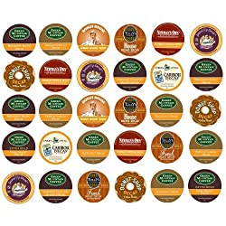 Single Serve Varieties Decaf Coffee Sampler, 30 Count from Single Serve Varieties