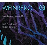 Weinberg:Symphonies 5 & 10 [Kirill Kondrashin; Rudolf Barshai, The Moscow Philharmonic Orchestra; The Moscow Chamber Orchestra] [MELODIYA: MELCD 1002281]