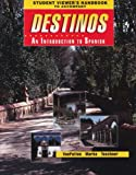 img - for By Bill VanPatten - Student Viewer's Handbook (Original) to accompany Destinos: An Introduction to Spanish: 1st (first) Edition book / textbook / text book