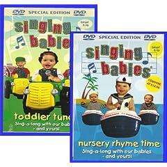 Singing Babies Nursery Rhyme Time Toddler Tunes Dvd S