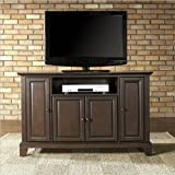 Crosley Furniture Newport 48-Inch TV Stand, Vintage Mahogany