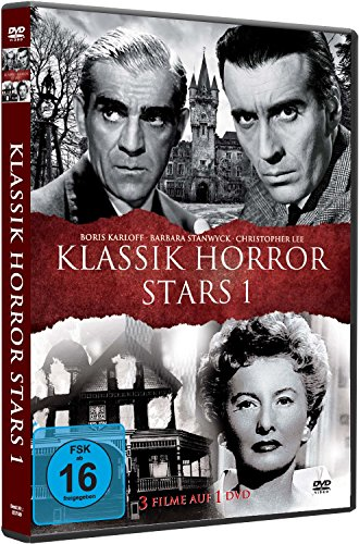 KLASSIK HORROR STARS 1 - Boris Karloff l Barbara Stanwyck l Christopher Lee