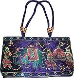 Czds India Women's Blue Handbag (BAG-43)