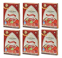 Ready to Eat Foods - Punjabi Rajma - Pack of 6 By Sanskriti