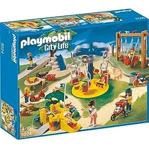 Playmobil - Grand jardin d'enfants 5024