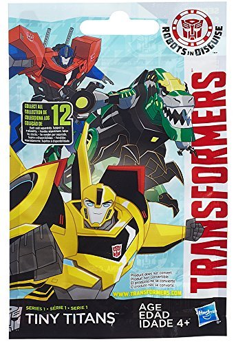 "Transformers Robots in Disguise Tiny Titans Series 1 2"" Mystery Box - 1"