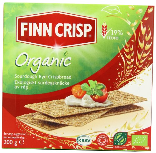 Finn Crisp Organic Crispbread 200 g (Pack of 9)