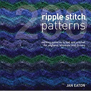 Easy Ripple Afghan - Free Crochet Pattern - Handcrafting With Love