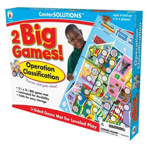 Carson-Dellosa Publishing Two Big Games Operation Classification